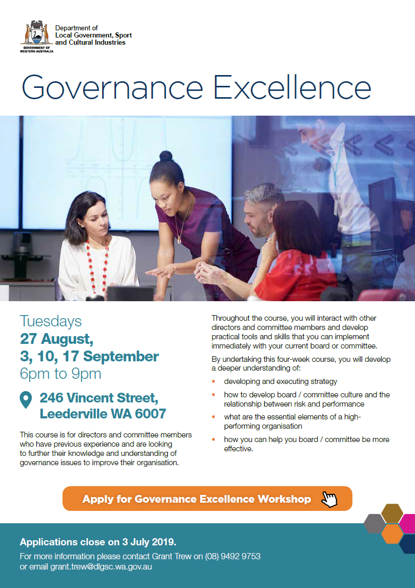 Governance Excellence flyer